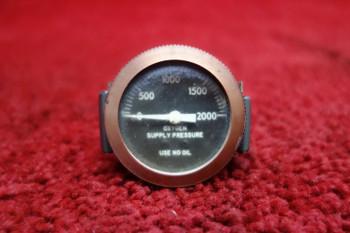 Oxygen Supply Pressure Gauge PN 800435