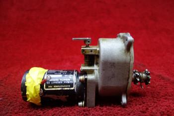 Aerospace Controls Flap Motor W/ Autopilot Gear Box 28V PN 9910055-1, 5115240-1
