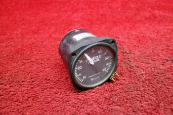 United Instruments Dual Manifold Pressure Gauge PN 6122