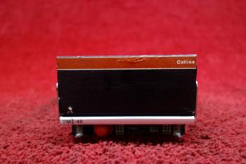 Collins DME-40 DME Transceiver PN  622-1233-001