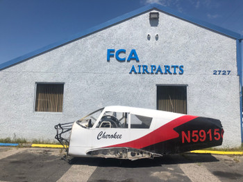 Piper PA-28-140 Cherokee Fuselage Airframe PN 66694-05, 66694-005 (CALL OR EMAIL TO BUY)