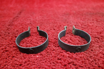Piper PA-28 Exhaust Stack Clamps PN 35655-02, 35655-002
