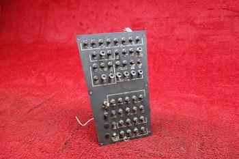 Sabreliner NA-265-80 Circuit Breaker Control Panel PN 370-540191-007
