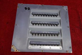 Aircraft Circuit Breaker Control Panel PN 600-51118-881/A01, 600-51069-806