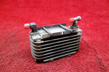 Stewart Warner  Heat Exchanger Oil Cooler PN 8406J