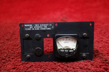 Piper PA-32R-301T Saratoga Prop De-ice Ammeter Panel PN 3E1389-2, 95107-09