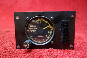 Bronzer AI-76, MARK-10 Radar Altitude Altimeter Indicator 12-30V PN 104-0175-00