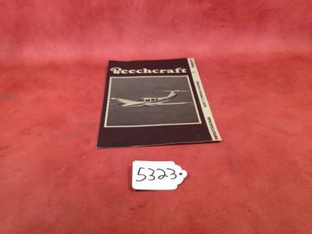 Beech Aircraft Corp. Beechcraft 1979 Duchess Specifications Brochure