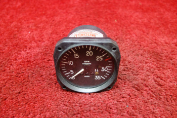 Mitchell Aircraft Products 98480-23 Mechanical Recording Tachometer PN D1-112-5023