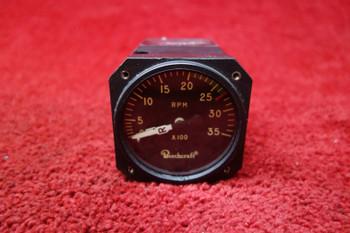 Beechcraft, Aerosonic Tachometer Indicator 12-30V PN 78035-0175