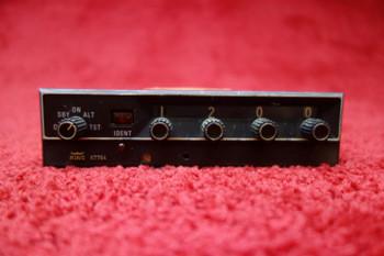King KT 76A ATC Transponder 13.75V PN 066-1062-00