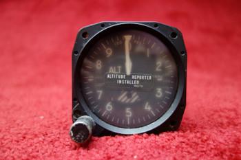 United Instruments Altimeter Gauge PN 5934PAD-1, PS50008-11-2, 540 331, 540-331