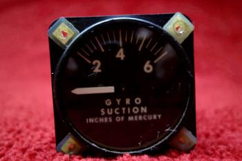 Airborne 1G10-1 Gyro Suction Gauge