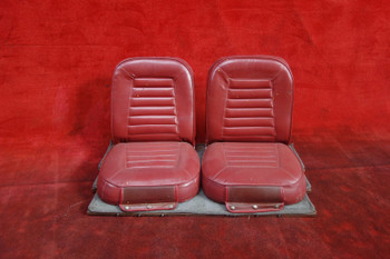 Piper PA-28-140 Cherokee Rear Seat PN 65518-00, 65518-000, 99358-00, 99358-000 (CALL OR EMAIL TO BUY)