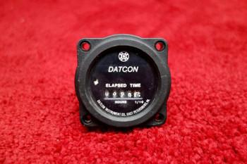 Datcon Instruments Elapsed Time Indicator 4/40V PN 773
