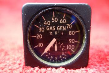 Smiths Industries Gas Generator Tachometer PN WL/2112/KTD/5