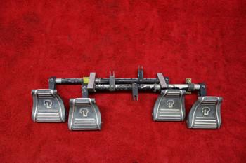 Beechcraft Rudder Pedals & Arms PN 169-524045, 169-524014, 169-524013