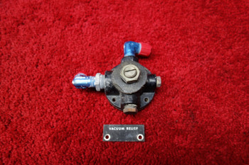 Manning Maxwell & Moore Piper PA-23-150 Apache Suction Regulating Valve PN 6803A