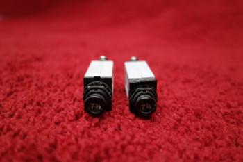 Klixon Circuit Breaker PN 7277-2-7-1/2, MFD-0174A