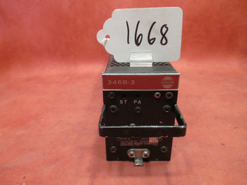 Collins 346B-3 Audio Control Center PN 522-3763-001