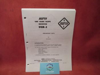 Narco UHF Glide Slope Receiever UGR-2 Manual