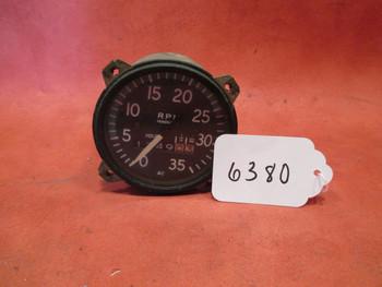 A.C. Div. G.M.C. RPM Guage/ Hour Meter