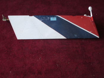 Piper PA-24-250 Comanche Rudder PN 20729 (EMAIL OR CALL TO BUY)