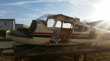 1961 Cessna 210A Fuselage Airframe (EMAIL OR CALL TO BUY)
