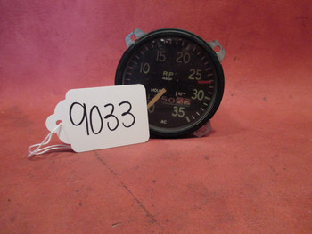 A.C. Div. G. M. C. RPM Gauge/Hour Meter
