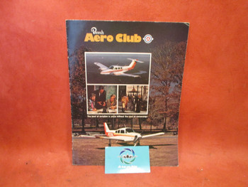 1976 Beechcraft Baron 55 Aero Club Brochure