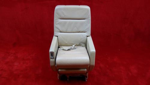EDRA Inc. Grumman G-1159 Gulfstream 3019(D) AFT Seat W/ Seat Belt PN 303479-14 (EMAIL OR CALL TO BUY)