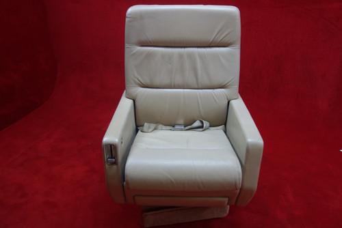 EDRA Inc. Grumman G-1159 Gulfstream 3019(D) FWD Seat w/ Seat Belt, PN 303479-17 (CALL OR EMAIL TO BUY)