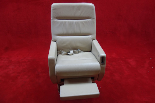 EDRA Inc. Grumman G-1159 Gulfstream 3019(D) AFT Seat w/ Seat Belt, PN 303479-13 (CALL OR EMAIL TO BUY)