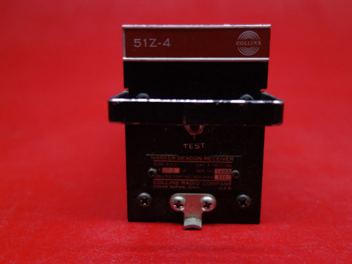 Collins 51Z-4 Marker Beacon Receiver  PN 522-2996-011