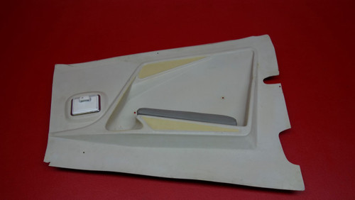 Mooney M20 LH Passenger Rear Panel w/ Ash Tray and Arm Rest PN 130091-41, 130091-041