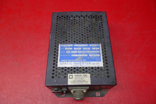 Leland Electrosystems Inc. ASH634-2 Static Inverter 26-30V