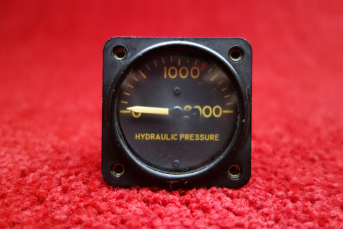 U.S. Gauge Hydraulic Pressure Gauge PN AW1817AB01, MS28061-6