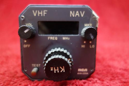 RCA AVN-220A VHF NAV System PN MI-585073