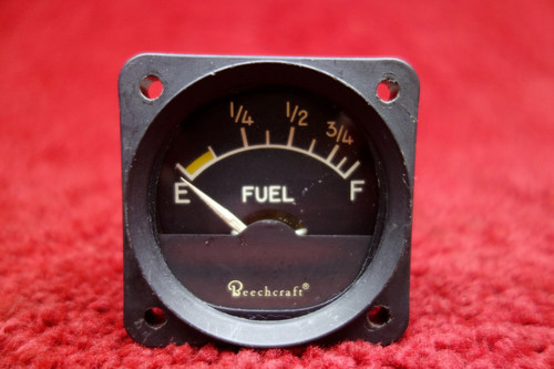 Hickok Indicating Systems Fuel Quantity Indicator PN A-1156-5, 58-380050-5