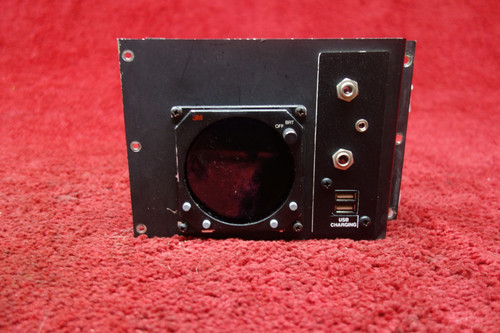 3M Aviation Safety Systems WX-1000 Stormscope Series II Display W/ Panel PN 78-8051-9170-3