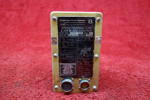 Sundstrand Speed Temperature & Air Bleed Control 28V PN 161525-200