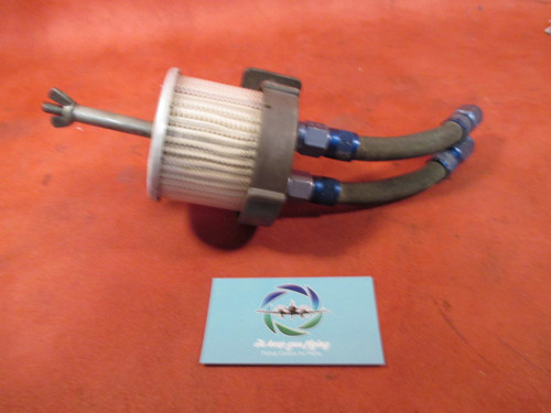 Cessna 150 Airbourne Vacuum Filter With Bracket PN D9-14-5