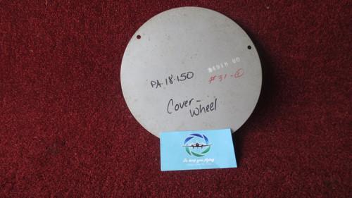 Piper PA-18-150, PA-25-235, PA-25-260 Cover Wheel PN 24918-00