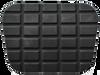 60-72 CHEV/GMC P/U, BRAKE, CLUTCH PEDAL PAD W/O TRIM, FOR MANUAL TRANSMISSION MODELS