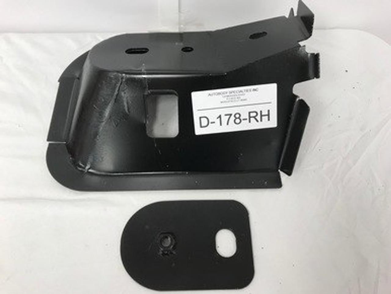 RH / 1994-2001 DODGE RAM PICKUP STEEL FRONT CAB MOUNT W/NUT PLATE