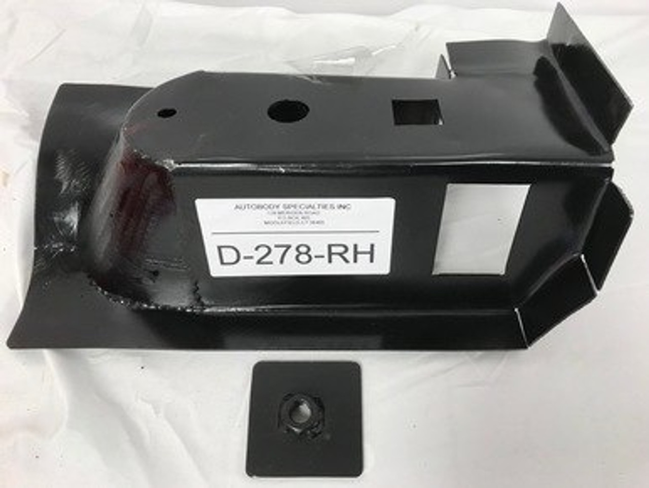 RH / 2000-11 DAKOTA 4 DOOR & 1998-2003 DURANGO STEEL FRONT CAB MOUNT W/ NUT PLATE (except 2 door)
