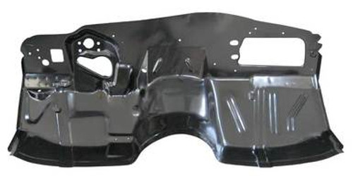1964-1967 CHEVELLE & ELCAMINO LOWER FIREWALL (without a/c)