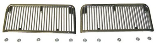 1968-69 CHEVELLE & ELCAMINO SS HOOD INSERTS (sold as a pair)