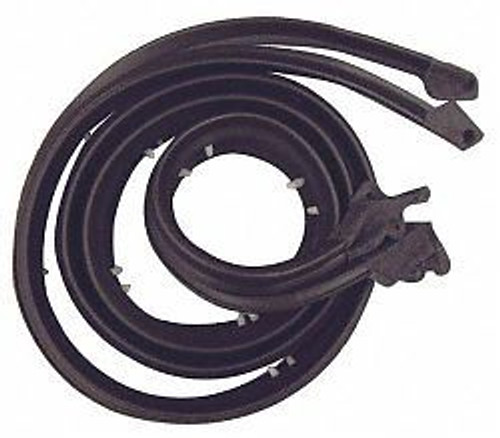 1961-62 IMPALA & FULLSIZE CHEVY DOOR WEATHERSTRIP (sold as a pair)
