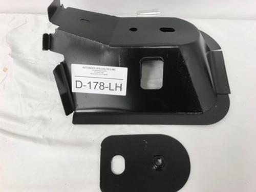 LH / 1994-2001 DODGE RAM PICKUP STEEL FRONT CAB MOUNT W/NUT PLATE